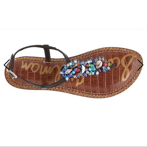 999ddb5c474d3 NEW Sam Edelman Gabrielle Boho Leather Sandal 7 NWT